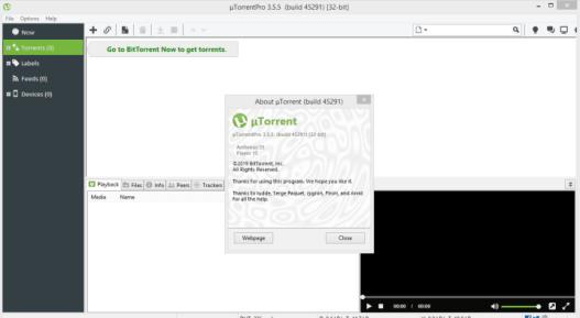 uTorrent Pro [3.5.5 Build 45798] Crack Free Download
