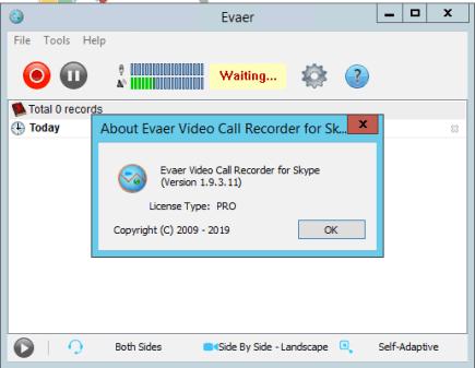 Evaer Video Recorder for Skype 2.0.11.2 Crack Free Download