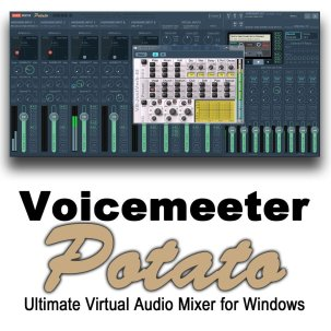 VoiceMeeter Potato 3.0.1.4 Crack With License Key Latest 2021 Free