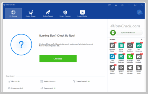 Wise Care 365 Pro 5.6.1 Crack + Activation Key Full Version Download 2021