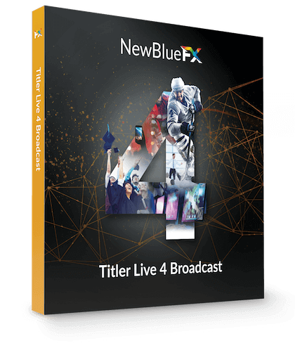 NewBlue Titler Live 4 Broadcast 4.1.210630 With Crack 2021