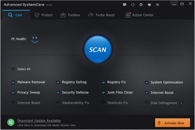 Advanced system care 8 pro latest version download