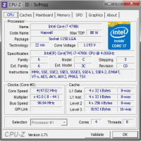 CPUID CPU-Z Free Download Temp Monitor