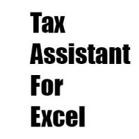 Tax Assistant For Excel Free Download