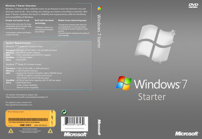 Windows 7 Starter Full Version Free Download ISO 32Bit