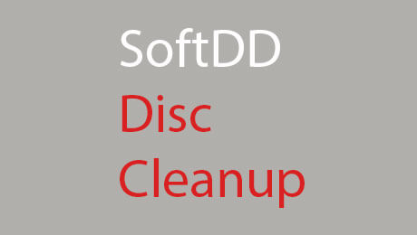 Softdd disc cleanup software