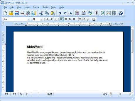 Ableword Pdf Editor free download