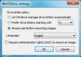 Image Mounting Software WinCDEmu