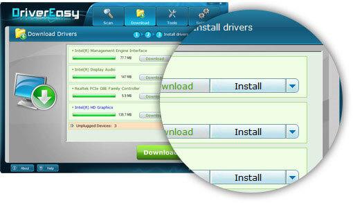 Driver installation Driver Easy Version 4.9