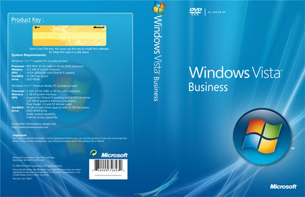 Windows Vista Business Download - Free ISO 32/64bit (Professional) - Softlay