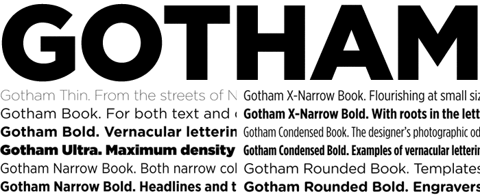 download font gotham book light