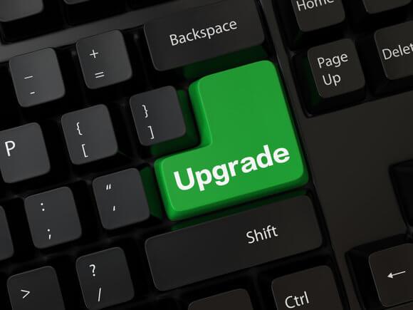 how to upgrade windows xp