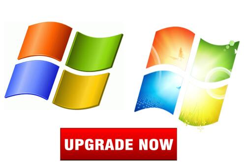 upgrade windows xp to windows 7 iso