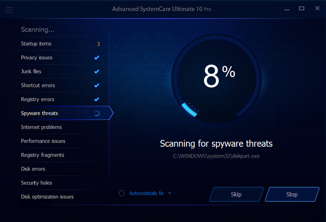 download latest version of advanced systemcare free for windows 10 64 bit