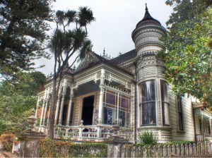 Victorian House in Santa Cruz