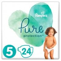 Πάνες Pampers Pure Protection Value Pack Νο5 (11+kg) 24τεμ