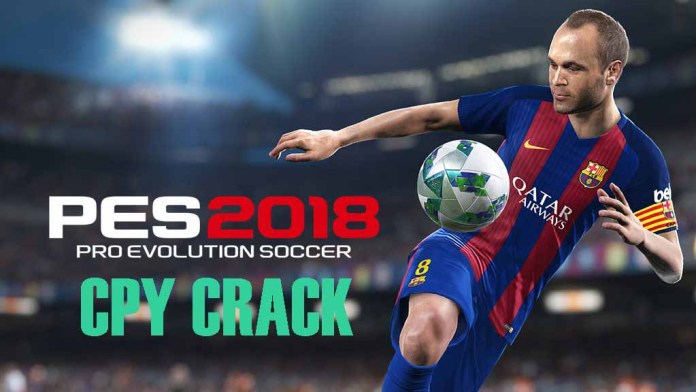 PES 2018 CPY cracked