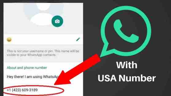 How to create a WhatsApp account with fake USA number(2018 working