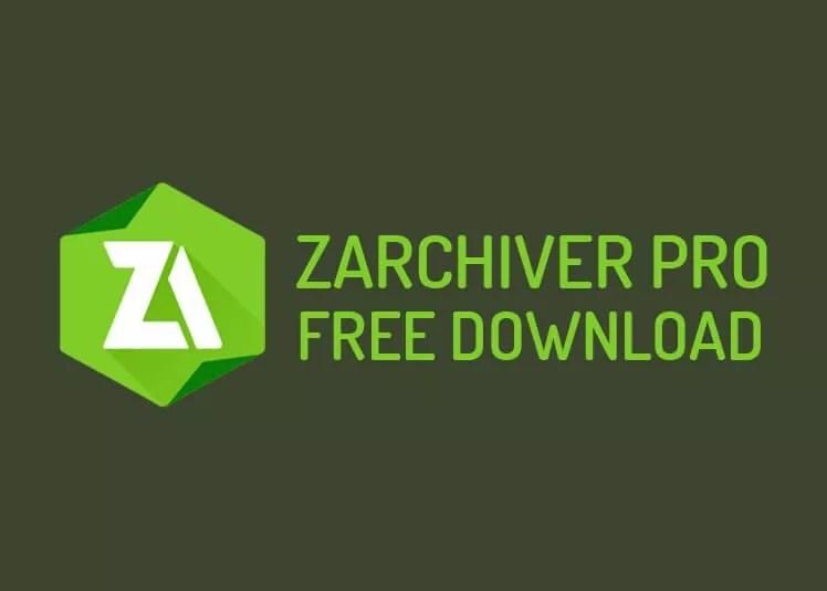 ZArchiver Pro Mod Apk Free Download