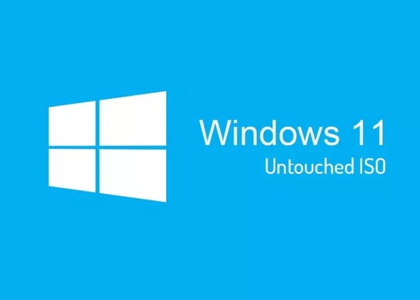 Windows 11 Untouched ISO