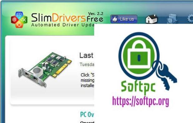 SlimDrivers Crack Free 2019 Latest Version Free Download