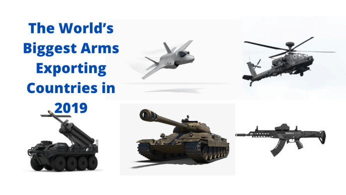 The World's Largest Arms Exporters 2019