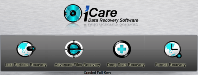 iCare Data Recovery Crack Full Keys Free