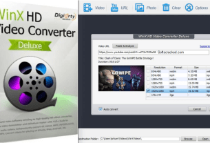 WinX HD Video Converter Deluxe Crack Full Keys