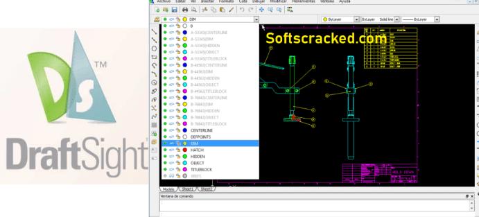 DraftSight Crack Free Download