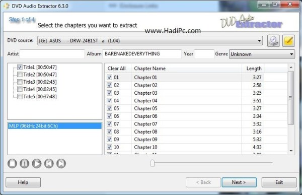 DVD Audio Extractor Crack With Serial key Download