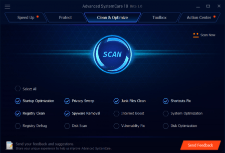 Advanced SystemCare 10 Pro Activation Keys 2017