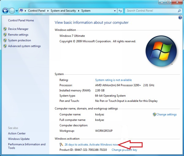 Windows 7 Product Key Generator Full Download 32 64 Bit Free 2021