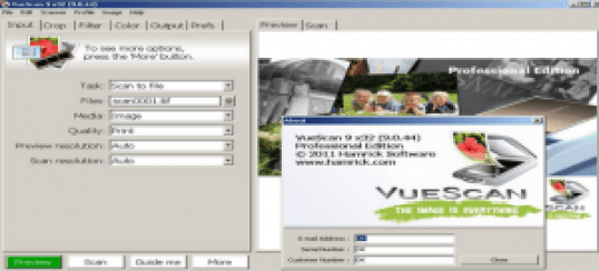 VueScan 9 Crack Full Version + Serial Number