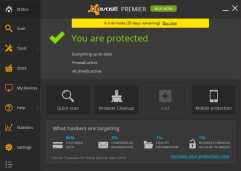Avast Premier 17.5.2303 Crack + License Key Till 2050