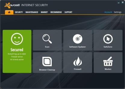 licencia avast internet security 2050