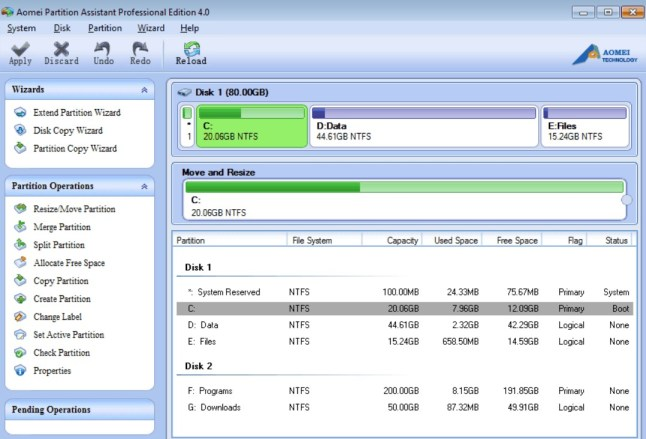 AOMEI Partition Assistant 6.5 Crack + Serial Key For Windows + MAC