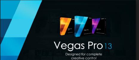 Sony Vegas Pro 13 Crack Full Version With License keys