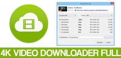 4K Video Downloader 4.8.0.2852 Crack With Registration Key Download 2019