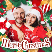 Merry Christmas Photo Frames Collection
