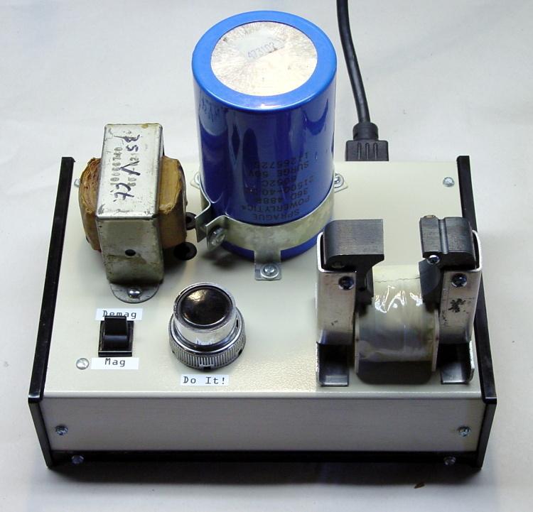 Homebrew Magnetizer-Demagnetizer