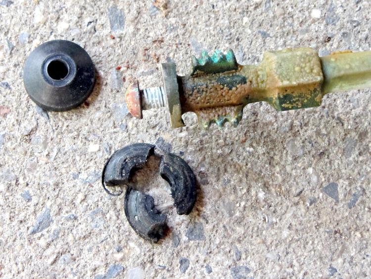 frostproof faucet attempted repair