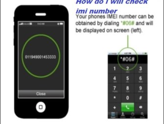How to check the IMEI number