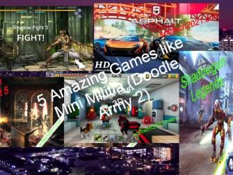 5 Amazing Games