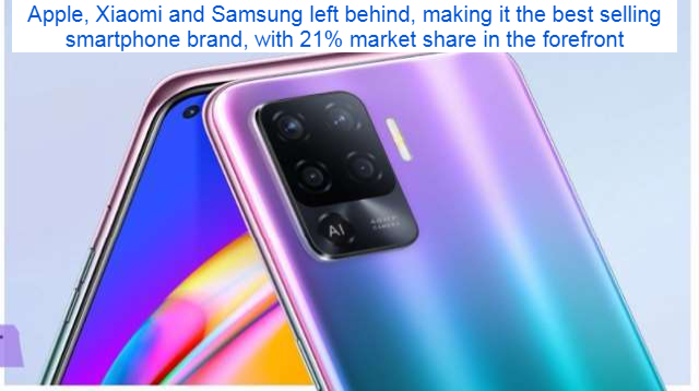 Apple, Xiaomi and Samsung