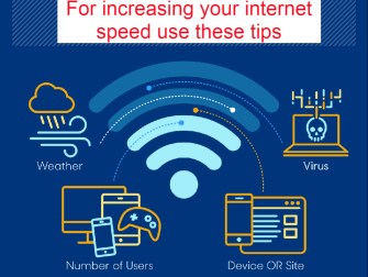 For increasing your internet speed
