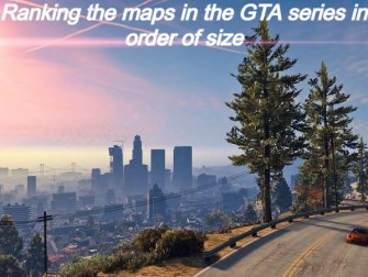 Ranking the maps in the GTA series