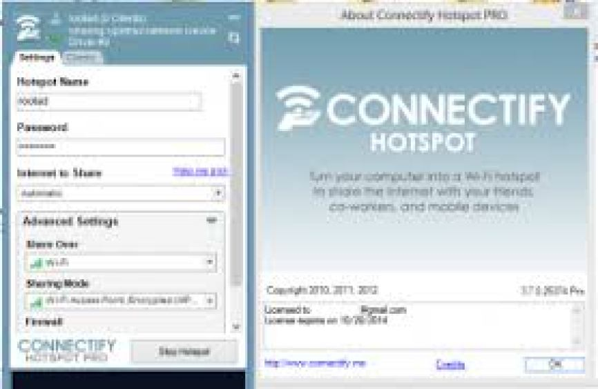 Connectify Hotspot Pro Crack by Software2crack