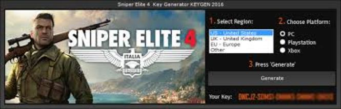 Sniper Elite 4 Crack by Software2crack