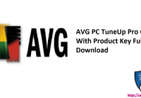 AVG PC TuneUp Pro Crack With Product Key Full Free Download