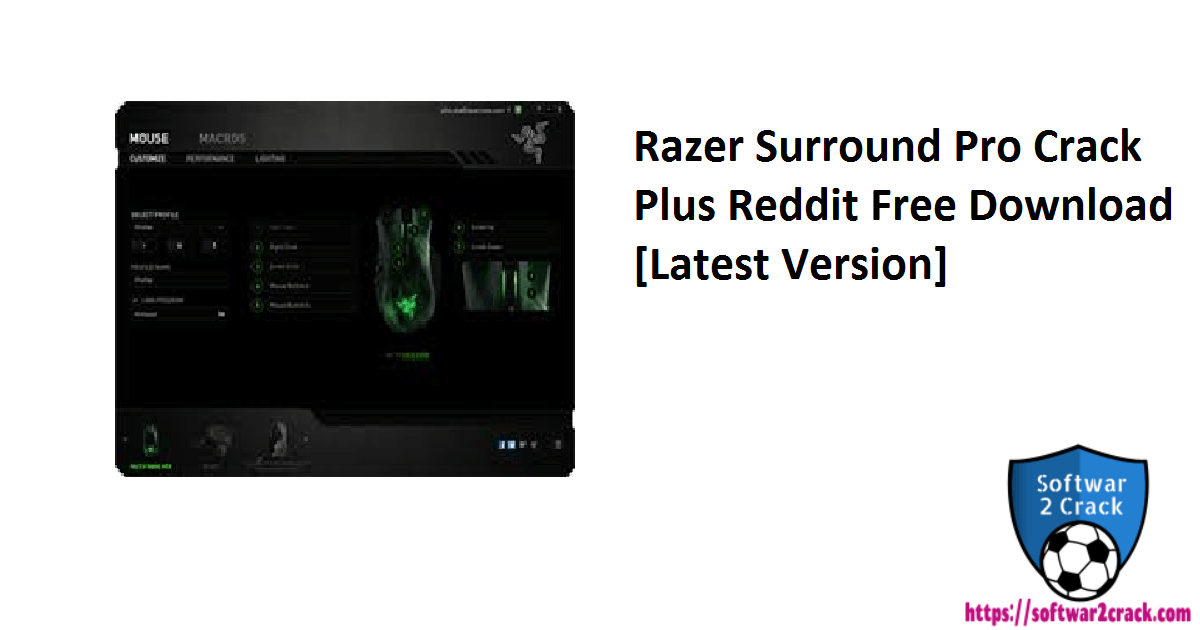 Razer Surround Pro Crack Plus Reddit Free Download[Latest Version]